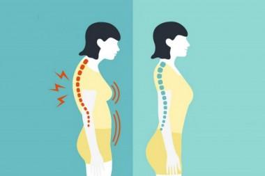 Správne držanie tela